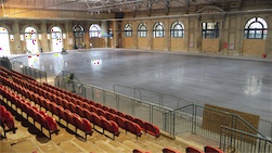 Alexandra Palace Concrete Finish